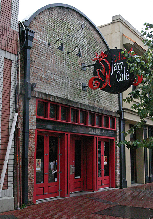 Red Cat Jazz Cafe  Franklin Street Houston Tx