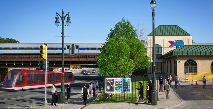 M-1 Streetcar, a key part of Redeveloping Detroit