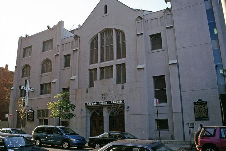 Second Baptist Church, Detroit Historic Sites
