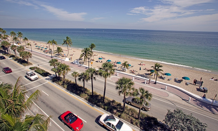 Route A1A, Fort Lauderdale