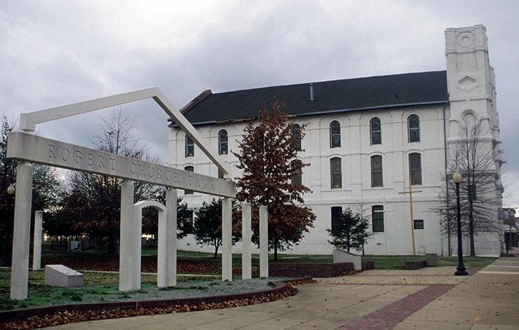 Robert Church Park, Memphis History