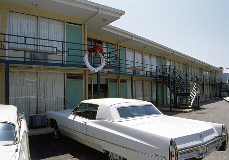 Lorraine Motel balcony, Memphis
