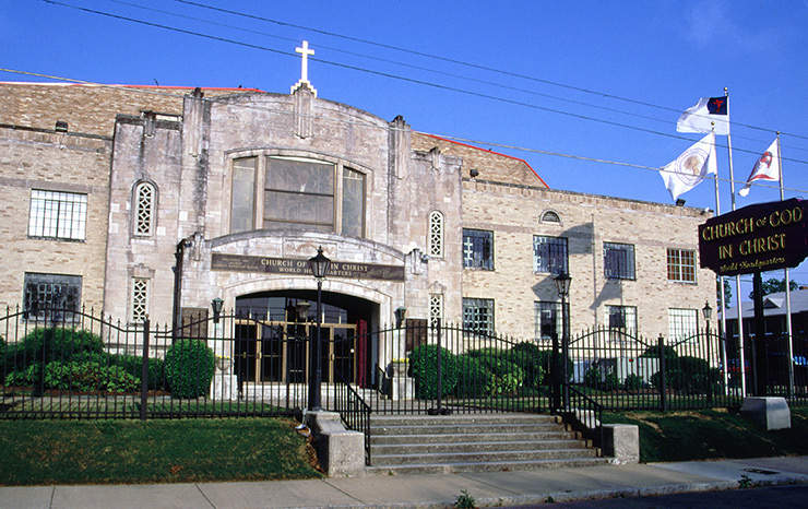 Mason Temple COGIC, Memphis Places of Worship