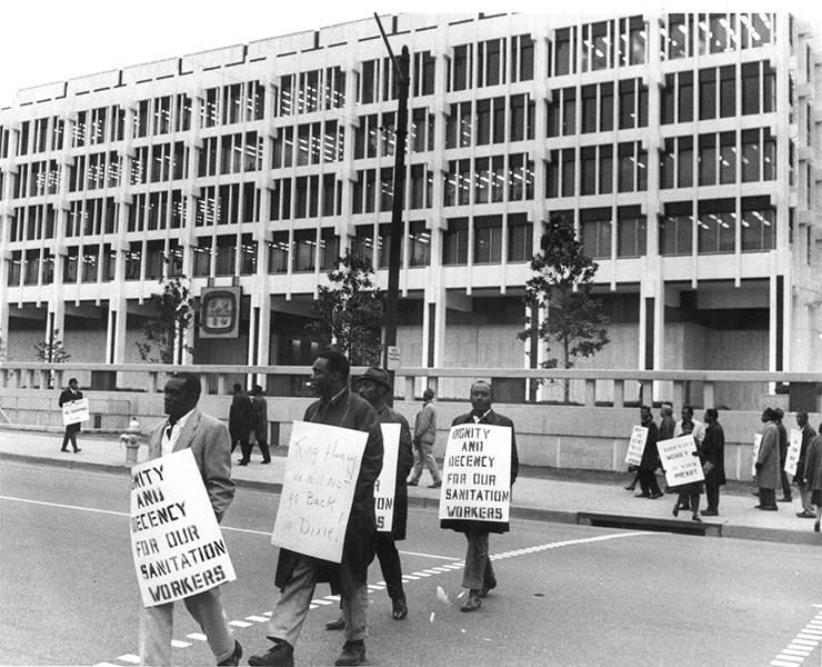 Memphis Sanitation Workers Strike in 1968