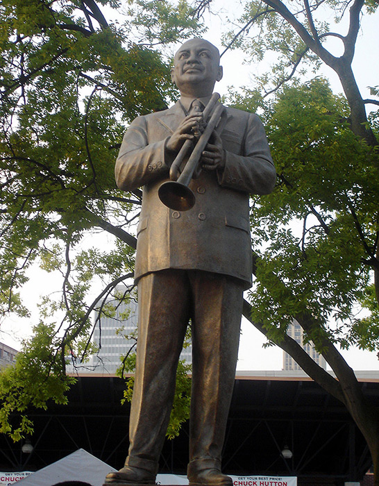 W.C. Handy Monument on Beale Street