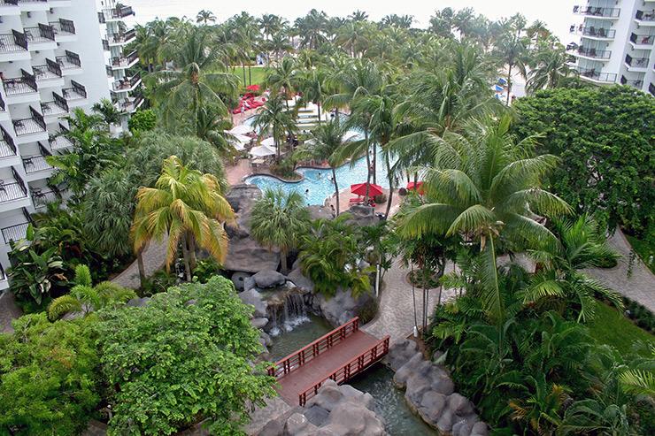 Marriott Aruba pool