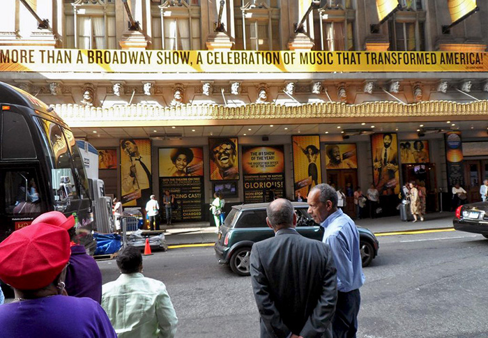 Motown The Musical at Lunt-Fontanne Theatre