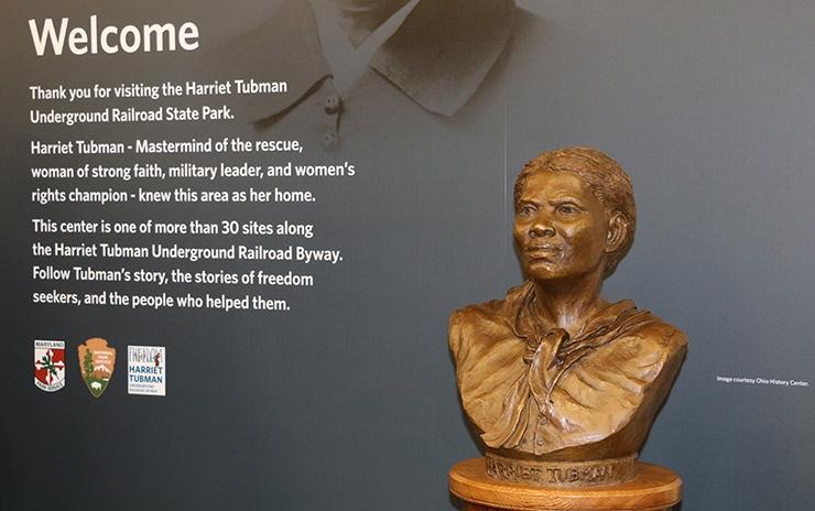 Harriet Tuman bust