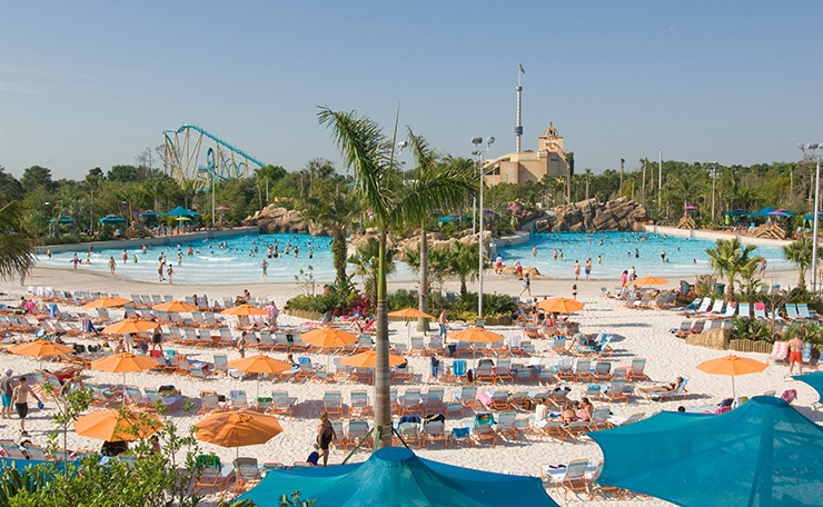 Aquatica Wave Pool, Orlando