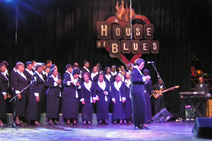 House Of Blues Gospel choir