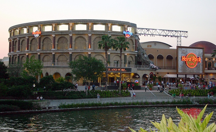 Hard Rock Cafe Orlando General Attractions