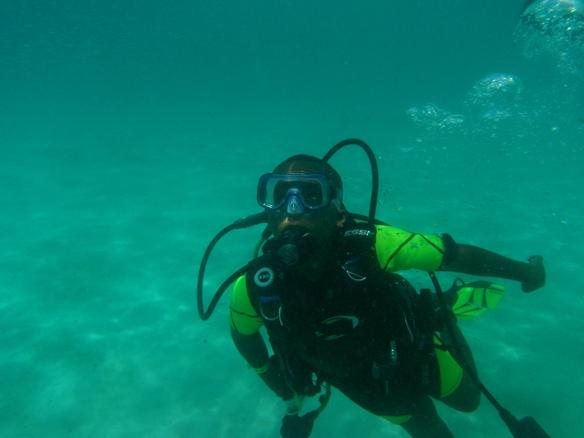 Coli Beach, Isiah dive