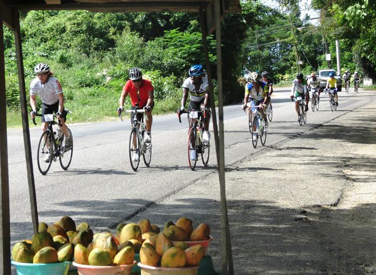 Fruit stop, Jamaica Reggae Ride