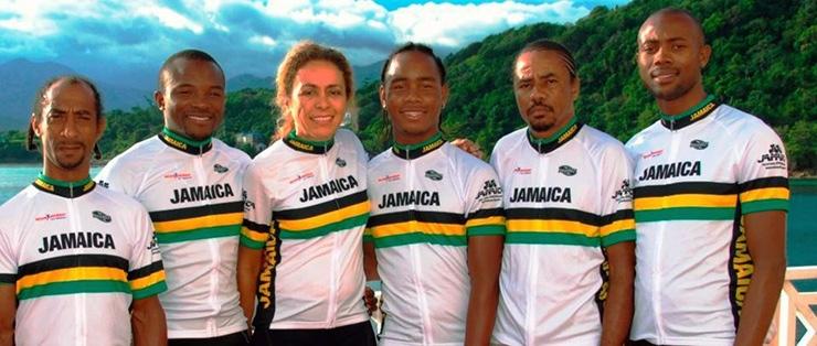 Cyclist guides, Jamaica Reggae Ride