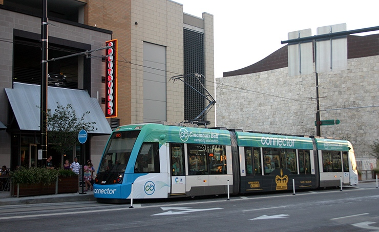 Cincinnati Bell Connector streetcar, Cincinnati Transportation