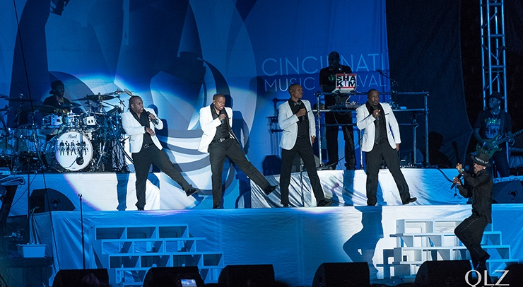 New Edition at Cincinnati MusicFest