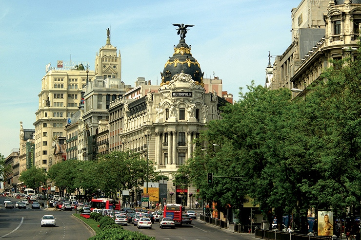 Madrid, International