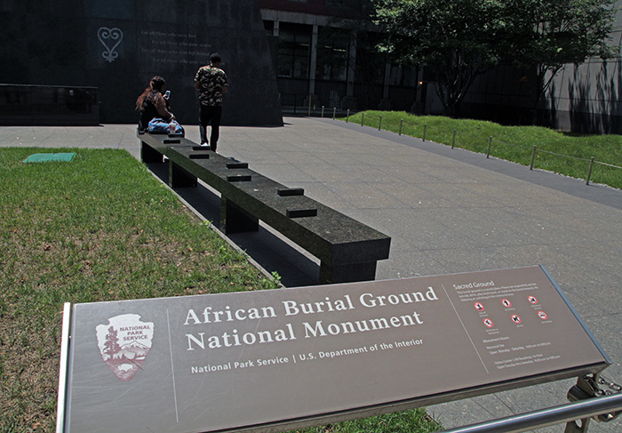 African Burial Ground in New York City