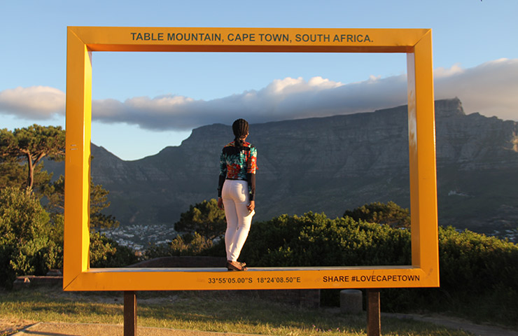 Picture yourself in Capetown, South Africa