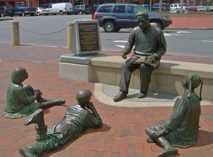 Alex Haley Statue, Annapolis