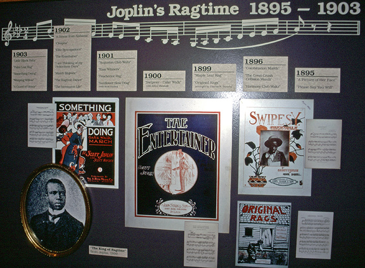 Scott Joplin House exhibit