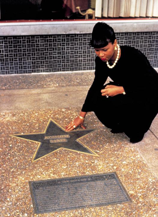 Josephine Baker star