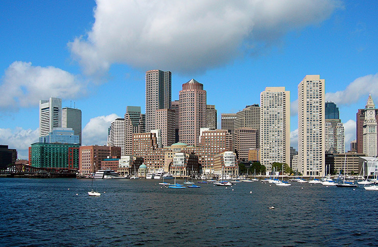 Boston skyline, Boston Photos
