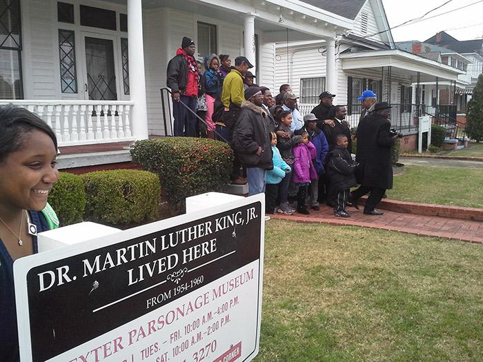 MLK Home, Montgomery