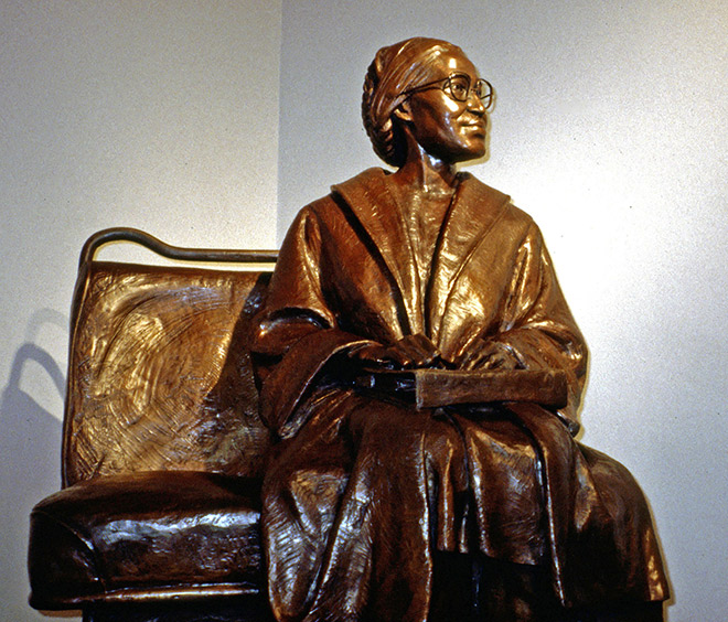 Rosa Parks statue, Montgomery
