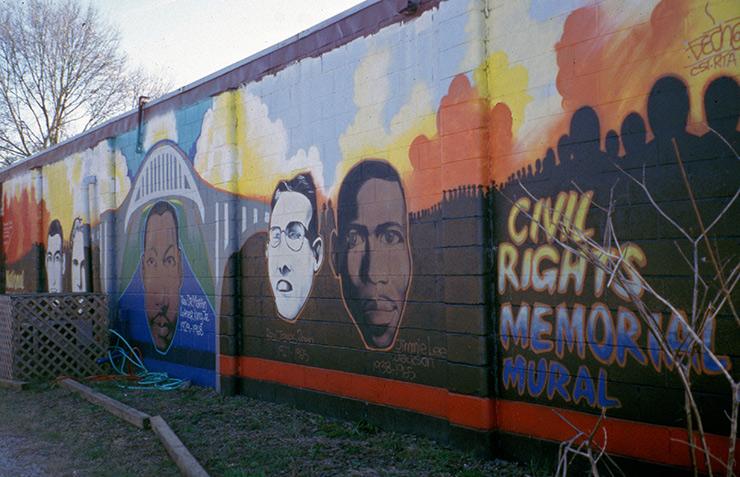 Civil Rights Memorial mural