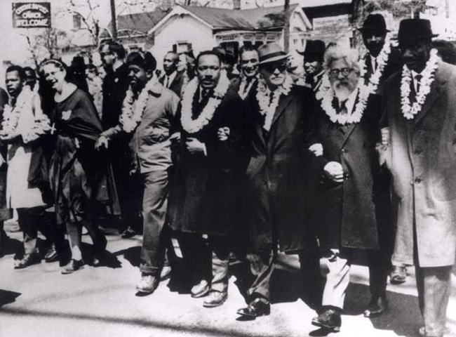 MLK and Rabbi Hershel