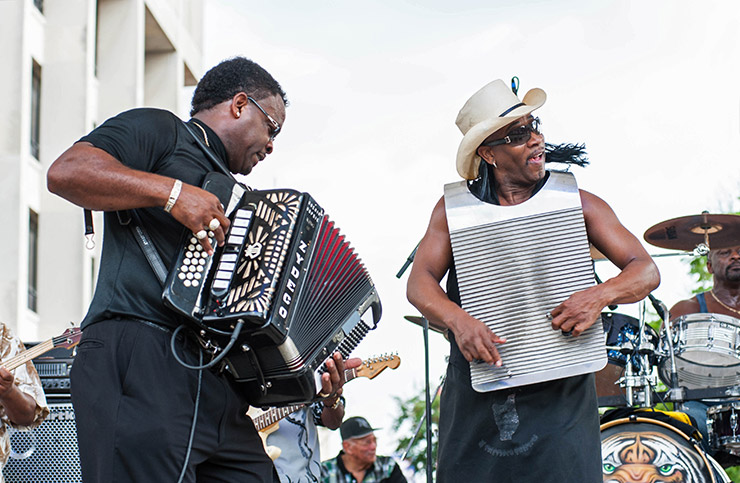 Live After Five Zydeco concert