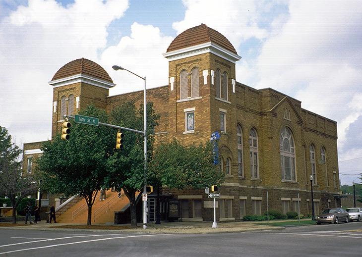 16th Street Baptist Church, Birmingham Places of Worship