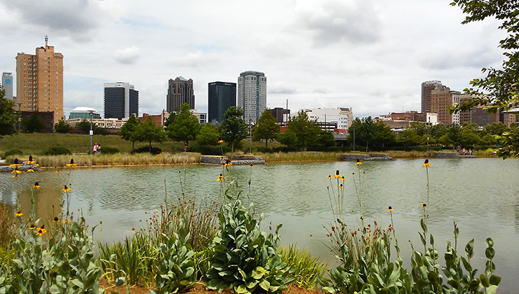 Railroad Park, Birmingham Photos
