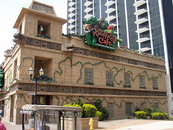 RainForest Cafe, Atlantic City Family Attractions
