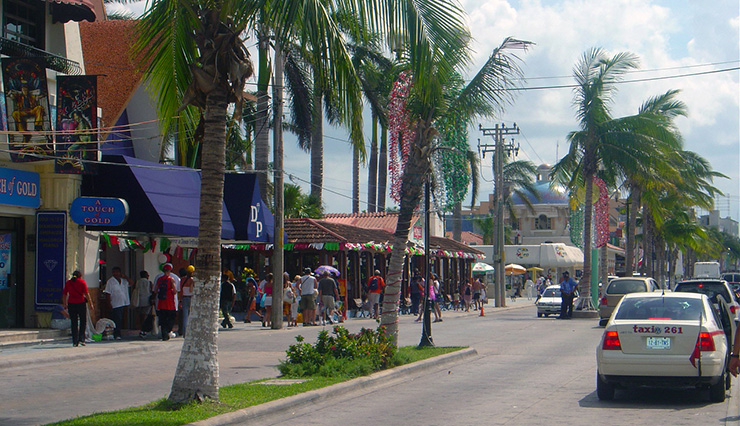 San Miguel downtown, Cozumel History