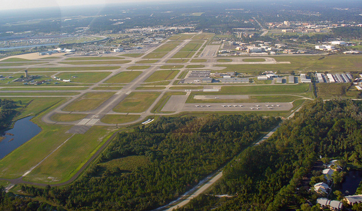 Daytona Beach International Airport, Daytona Beach Transportation