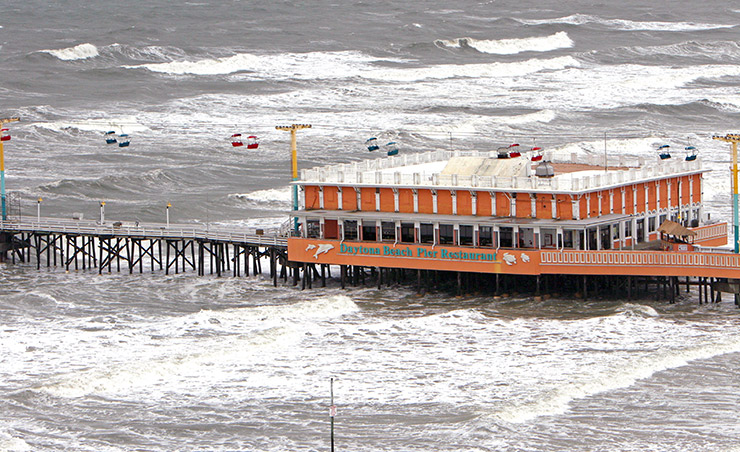 Slyrides over Pier, Daytona Beach Family Attractions