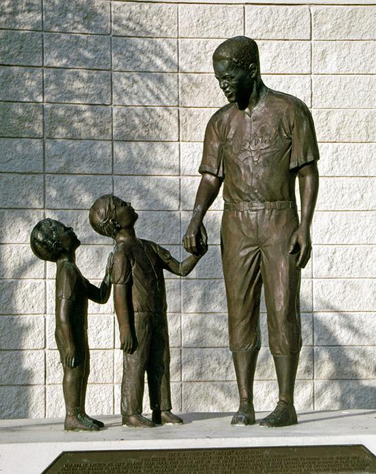 Jackie Robinson Monument, Daytona Beach