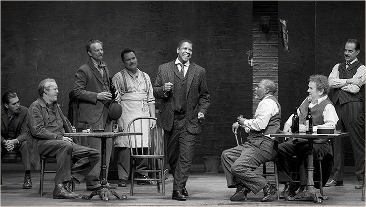 The Iceman Cometh starring Denzel Washington, Black Broadway
