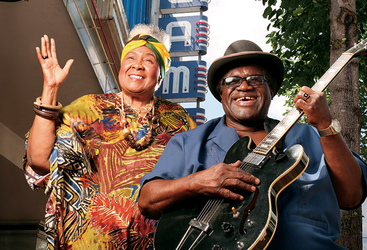 Dorothy Moore & King Edward, Blues Legends, Jackson Blues, Gospel & Soul Music