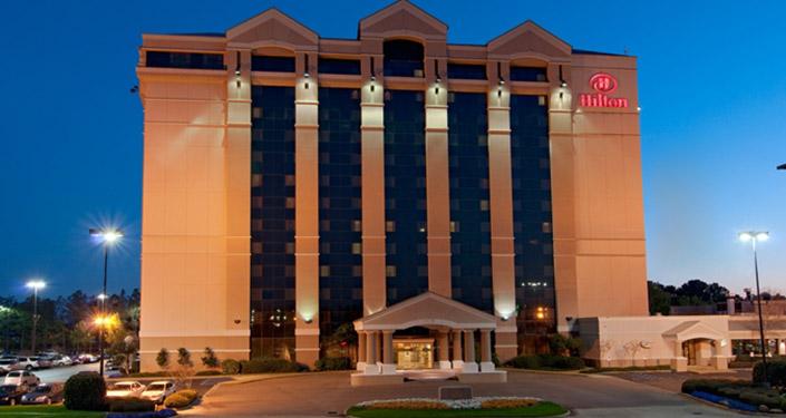 Hilton Jackson Hotel, Jackson Hotels
