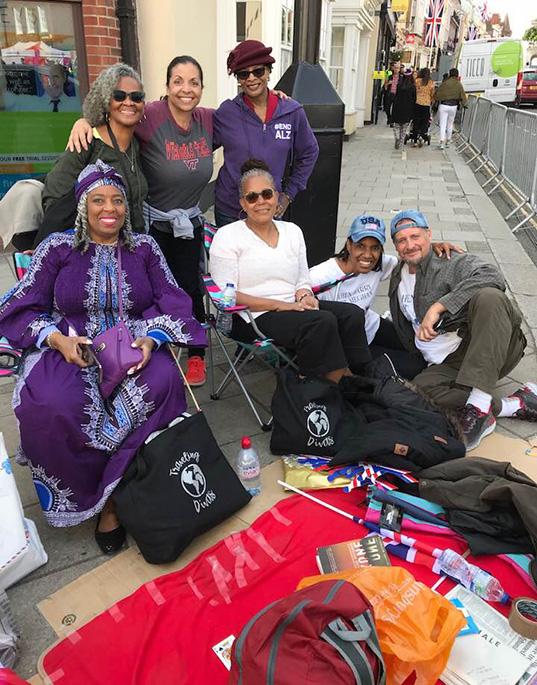 Traveling Divas, Sheryl Jones, Pamela Skinner, Jeanette & Patrick