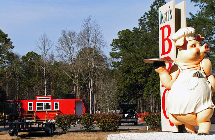 Oscar's BBQ, Bluffton