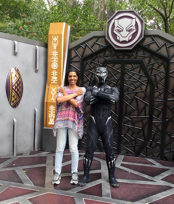 Jeanette Valentine & Black Panther