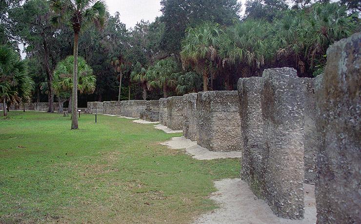 Kingsley Plantation slave cabins, Jacksonville