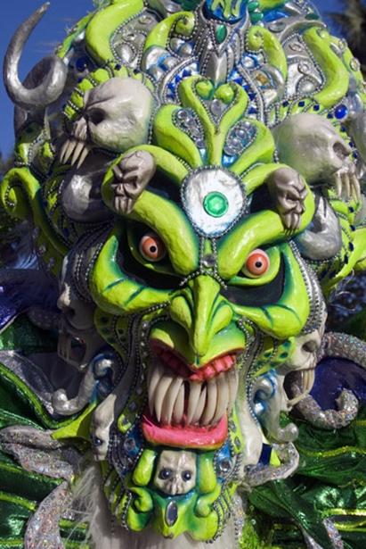 Carnival mask, Dominican Republic