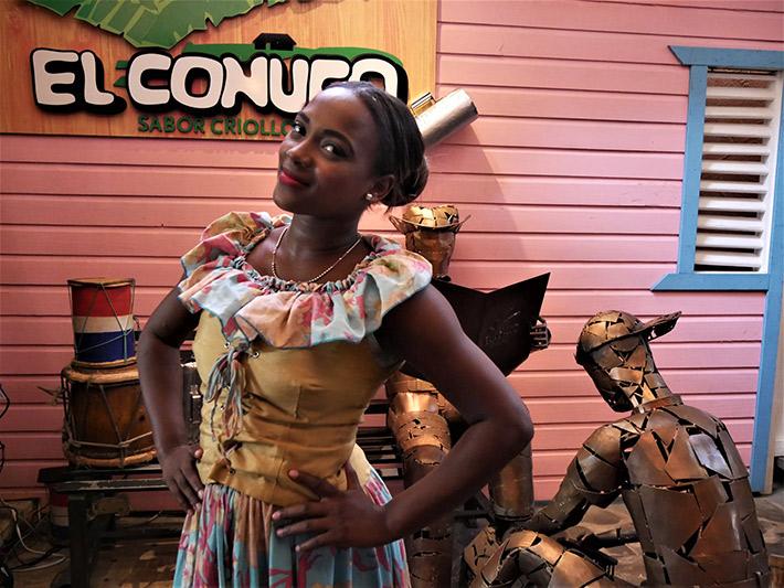El Conuco Restaurant matron, Santo Domingo
