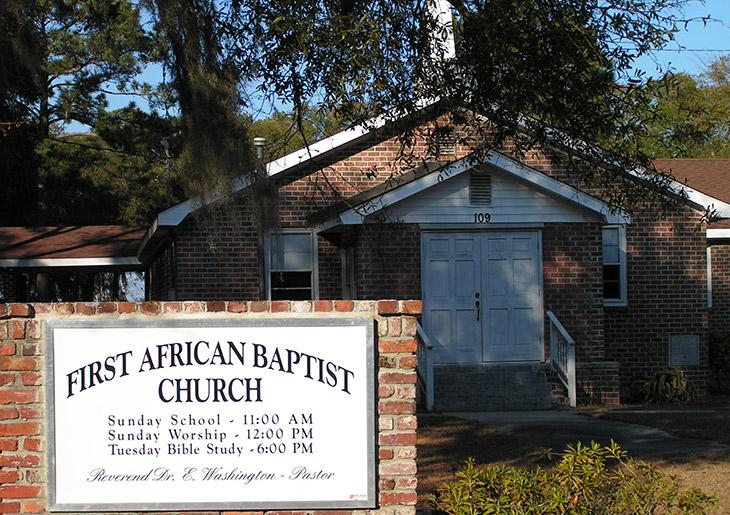 First African Baptist Church, St. Helena Island