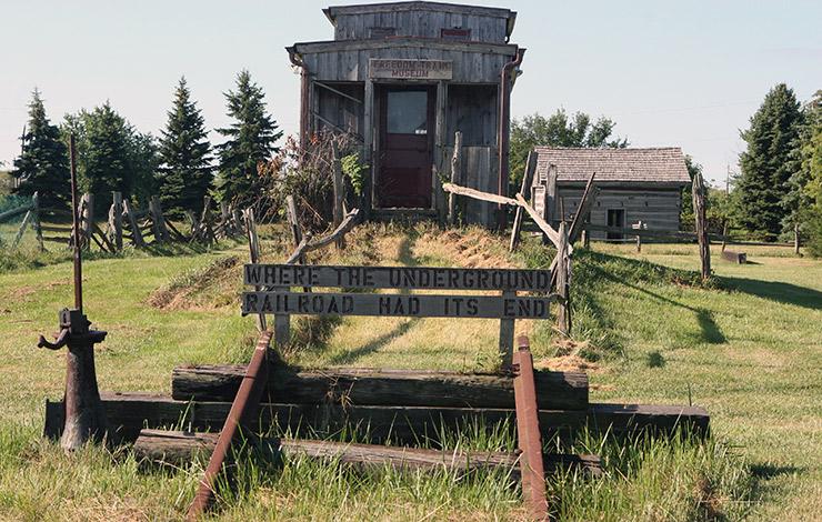 Underground Railroad Terminus, Windsor